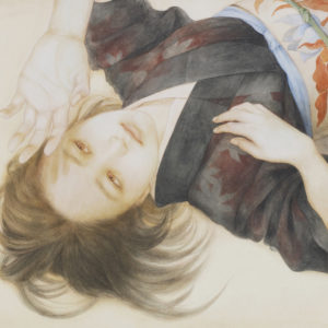 """岡本 東子 """"緋に滲む"""" 2014"""