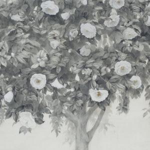 """岡本 東子 """"降る花"""" 2014"""