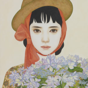 "中原 亜梨沙 ""鉢の花"" 2014"