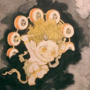 """鈴木 博雄 """"雷神"""" 2015"""