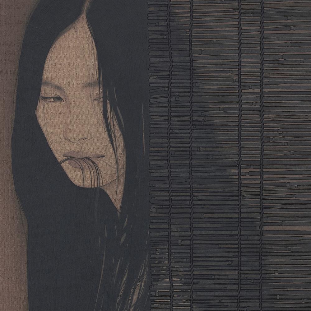 """池永 康晟 """"草簾・噛む"""" 2015"""