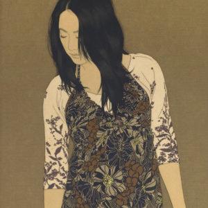 """Ikenaga Yasunari """"A Wheel Track, Mami"""" 2011"""