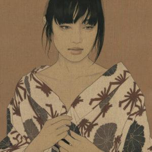 "池永 康晟 ""Flame of Karma, Natsuko"" 2015"