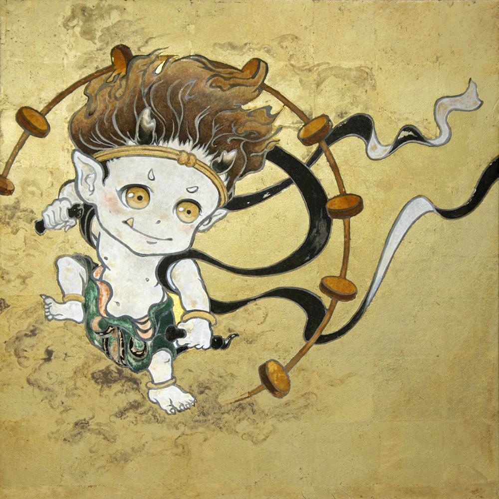 "Suzuki Hiroo ""Thunder God"" 2013"