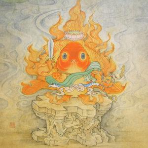 "Suzuki Hiroo ""Acala-Golden Fish"" 2016"