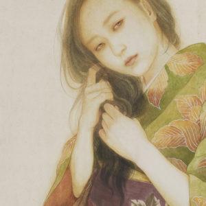 """Okamoto Toko """"A Woman Combs"""" 2015"""