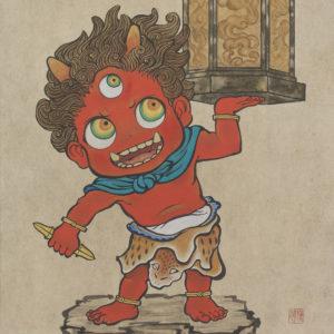 """Suzuki Hiroo """"Latern Demon"""" 2016"""