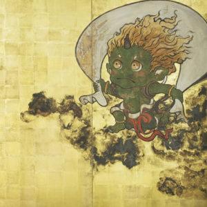 "Suzuki Hiroo ""Wind God"" 2016"