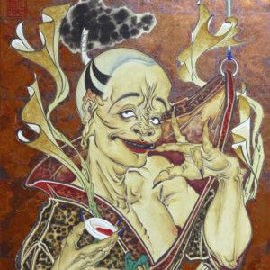 """Hattori Shihori """"Smoking, Turning"""" 2016"""