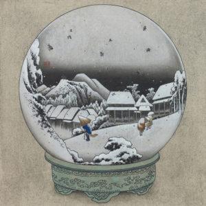 """鈴木 博雄 """"蒲原 夜之雪球"""" 2017"""