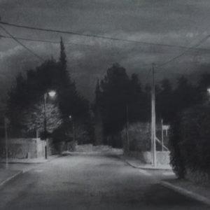 """原 崇浩 """"街灯の風景"""" 2012"""