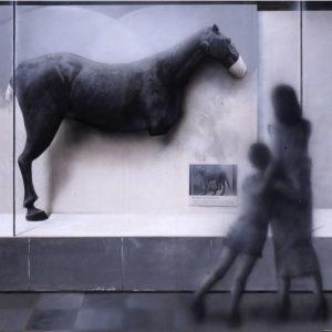 """Hara Takahiro """"被爆した馬"""" 1995"""