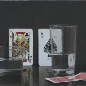 """Hara Takahiro """"Copas y Trump"""" 2016"""
