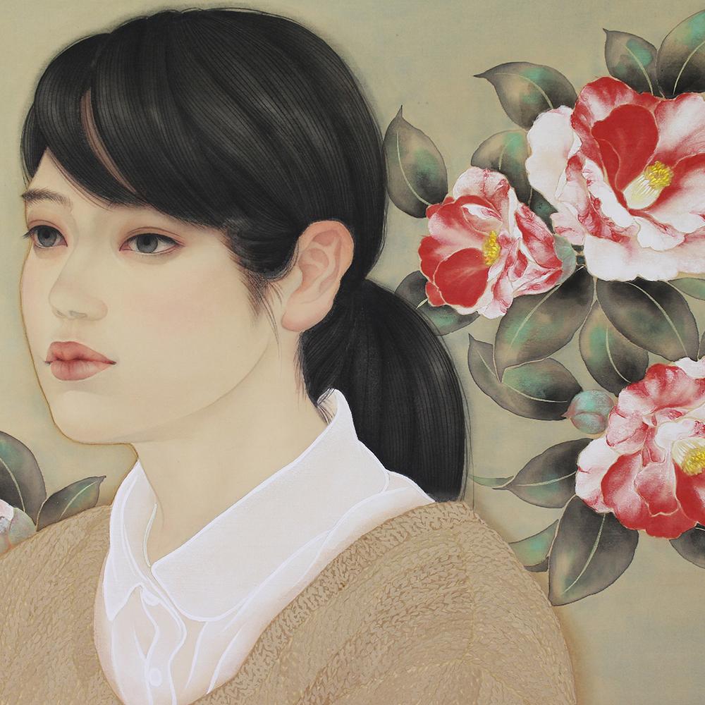 """田口 由花 """"想・絞椿"""" 2018"""