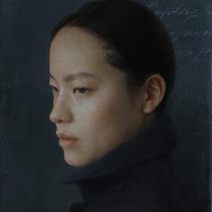"Hara Takahiro ""Retrato de une joven"" 2015"