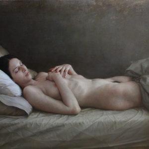 """原 崇浩 """"Laura en la cama """" 2011"""
