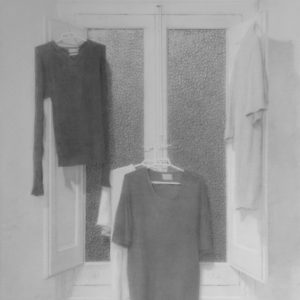 "原 崇浩 ""窓と洗濯物"" 2000"