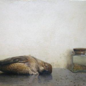 """Hara Takahiro """"Alcaudon muerto"""" 2015"""