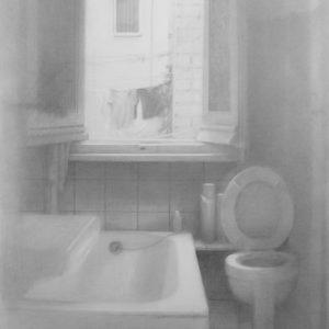 "Hara Takahiro ""cuarto de bano"" 1999"