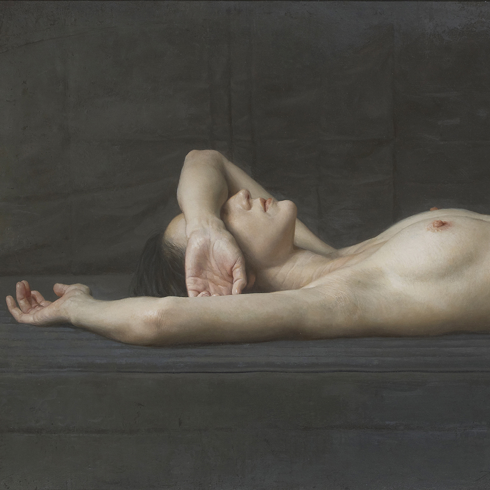 "Hara Takahiro ""Desnuda tumbada"" 2017"