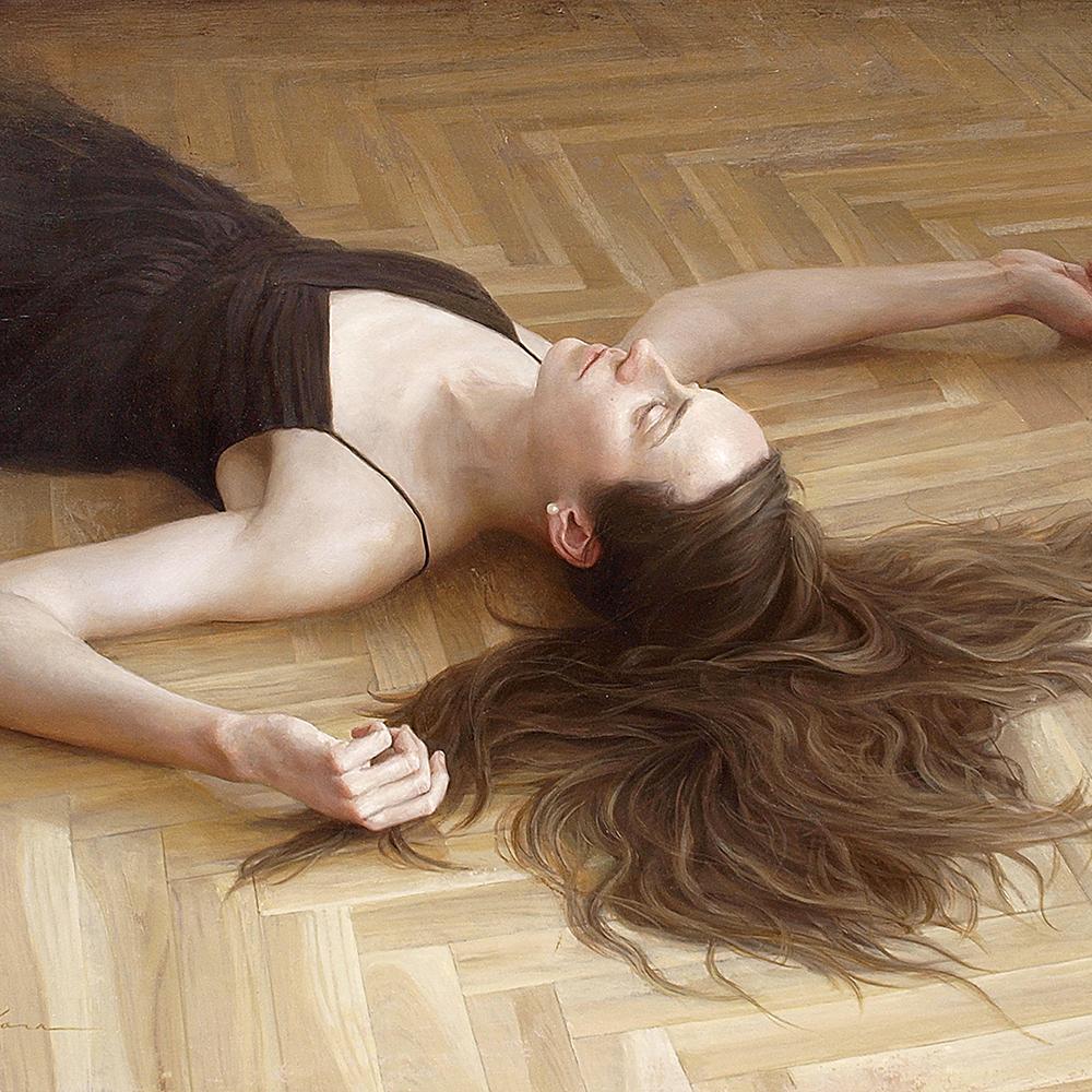 "原 崇浩 ""Lucia tumbada"" 2011"