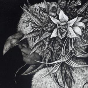 """北川 麻衣子 """"Heralding Bird of  Flowering"""" 2018"""
