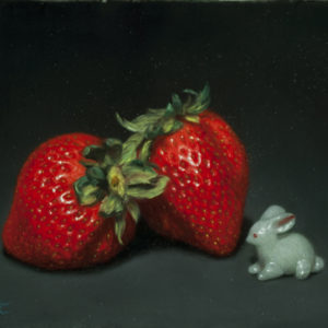 "Mishima Tetsuya ""Glass Rabbit and Strawberry"" 2018"