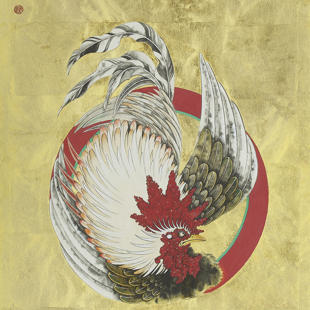 "Hattori Shihori ""circle rooster"" 2018"