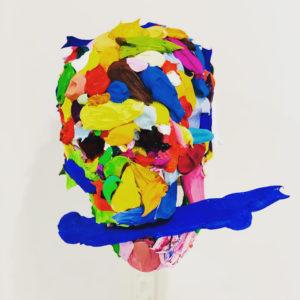 """Sugita Yohei """" material series (skull)"""" 2019"""