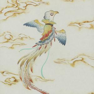 """Hattori Shihori """"Kabuto bird"""" 2019"""