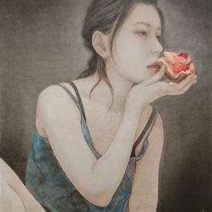 "Okamoto Toko ""腹から舌から"" 2019"