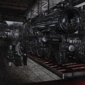 "Takagi Yo ""Steam locomotive on the red track"" 2016"