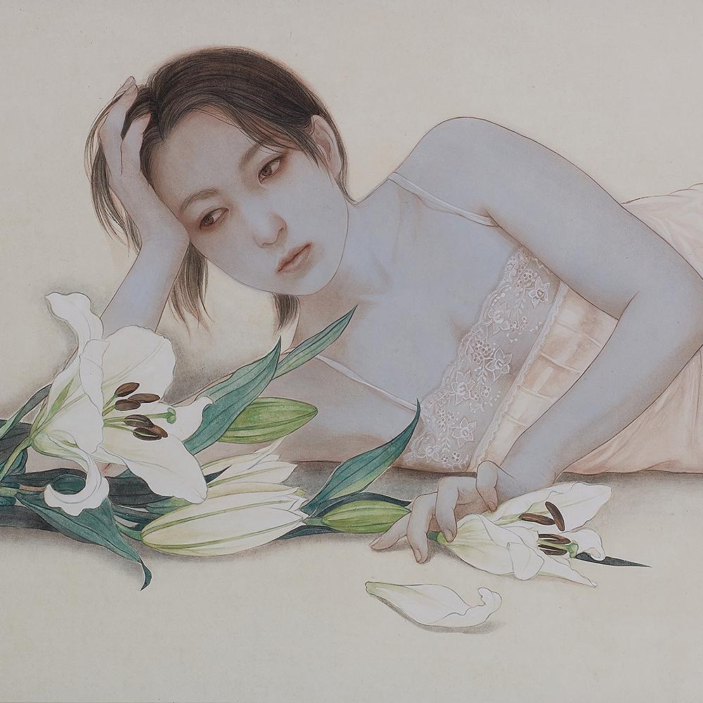 "Okamoto Toko ""Adorn with flowers"" 2020"