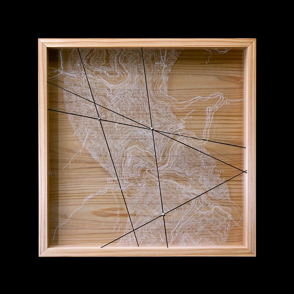 "Tokunaga Hiroko ""Link the Peaks-cedar-"" 2019"