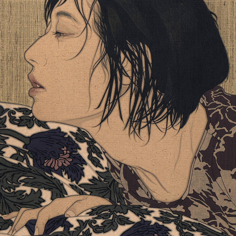 "Ikenaga Yasunari ""Against the silk wave・Reina"" 2021"