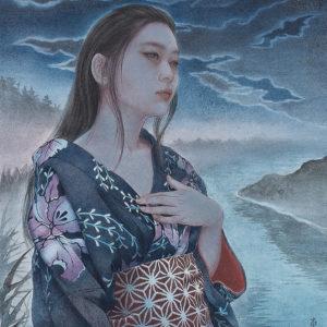 "Okamoto Toko ""Light of Partial Moon(Tribute art work to Izumi Kyoka)"" 2020"